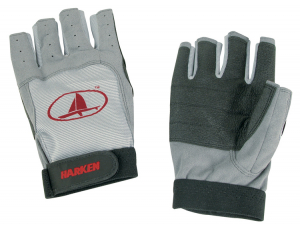 Harken 3/4 Finger Black Magic Gloves