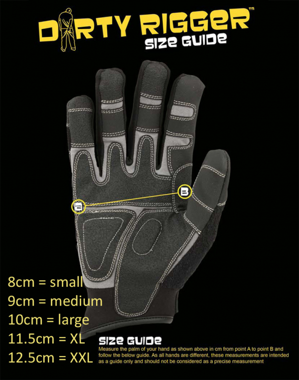 Dirty Rigger LEATHER Framer Gloves