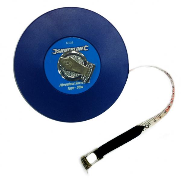30m Surveyors Tape Measure