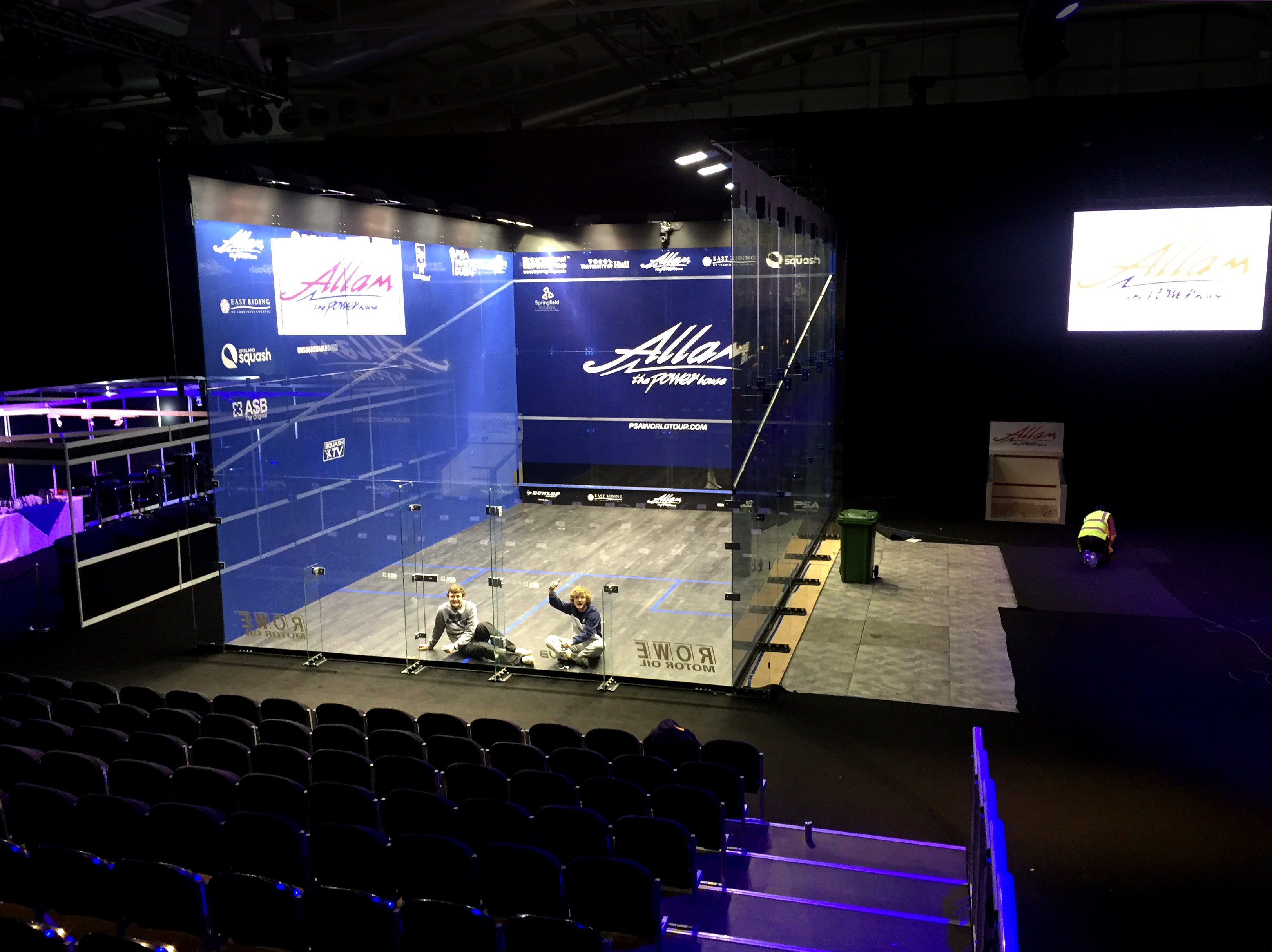 The Allam British Open Squash Championships at the Airco Arena, Hull