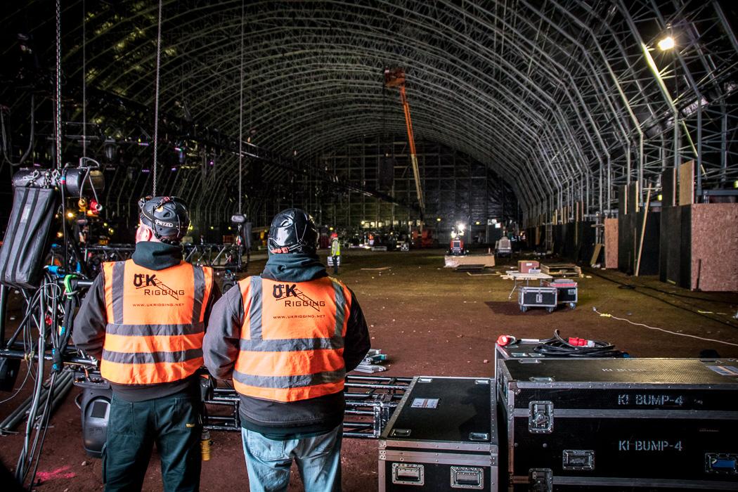 UK Rigging   Steel Yard, Liverpool (Creamfields)   UK Rigging