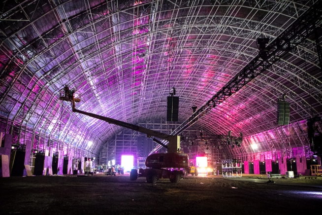 Steel Yard, Liverpool (Creamfields)