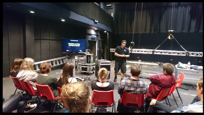 Liverpool Institute of Performing Arts – Essential Skills Session