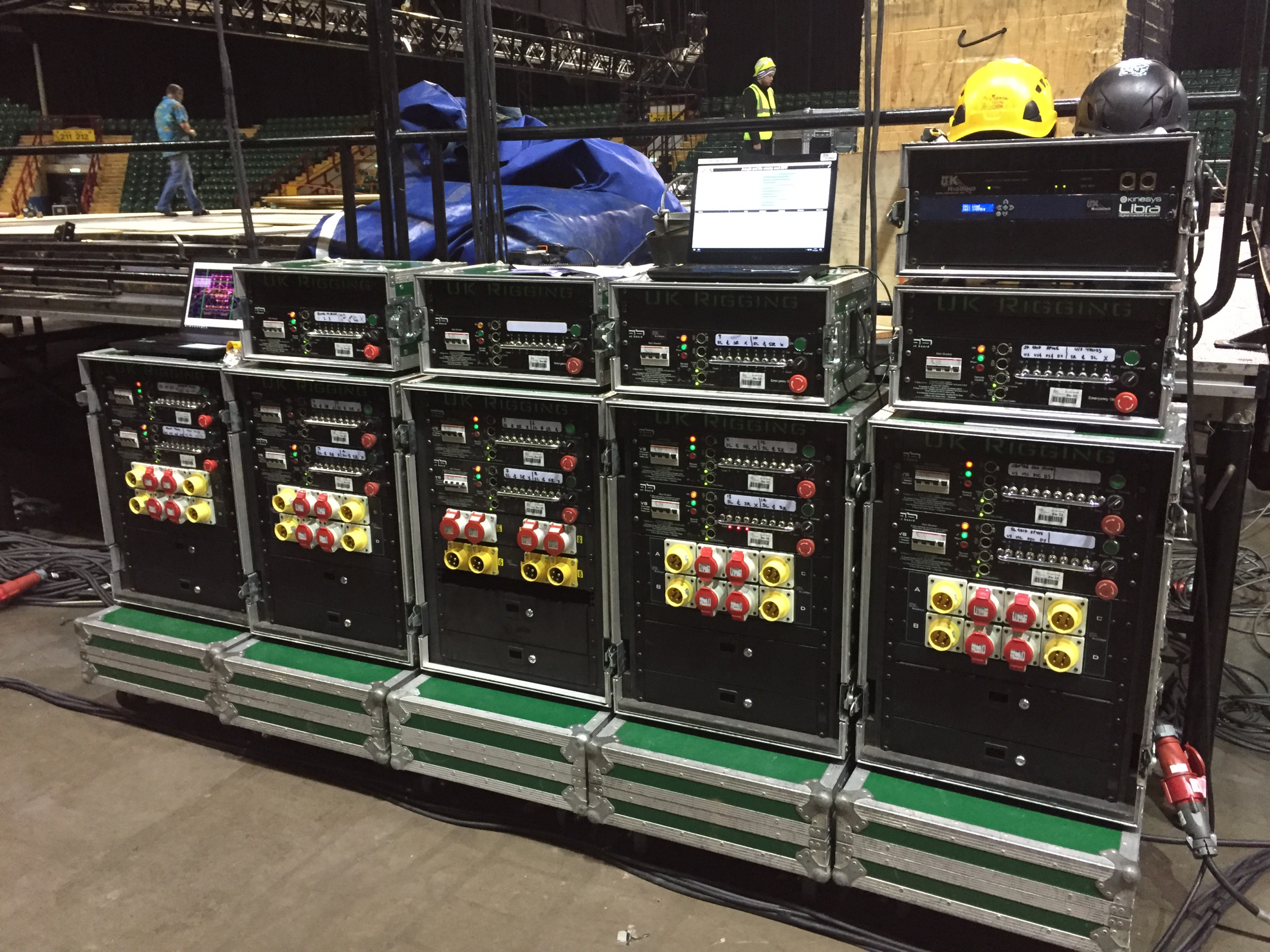 UK Rigging Called to Assist at Joseph and the Amazing Technicolor Dreamcoat Pantomime | Newcastle