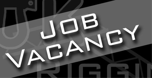JOB VACANCY – Hire Coordinator