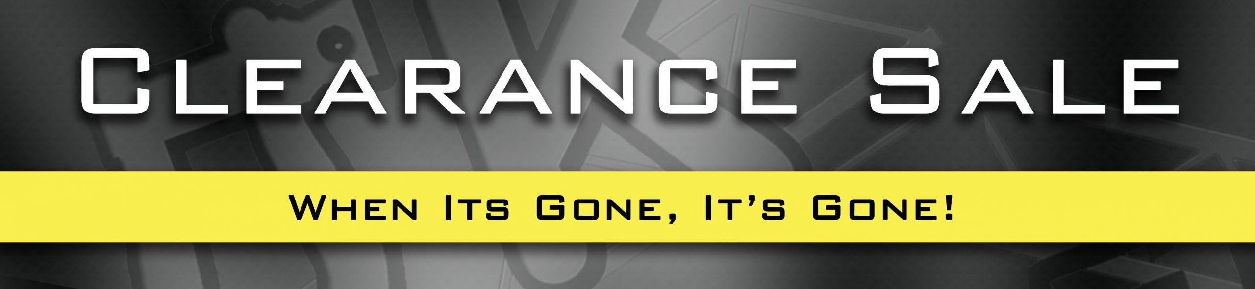 Clearance 2020